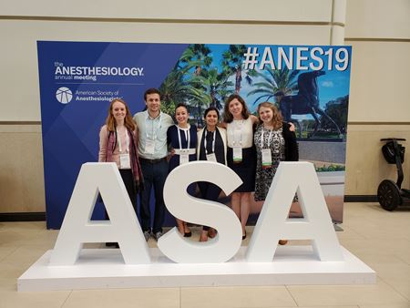 Anesthesiology Residents at the ASA Conference