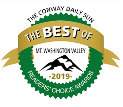 Best of Mt. Washington Valley black and white logo
