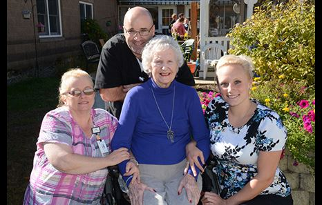 Senior Care at Memorial Hospital - Senior Patient and Staff