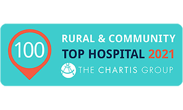 Rural & Community Top 100 Hospital for 2021