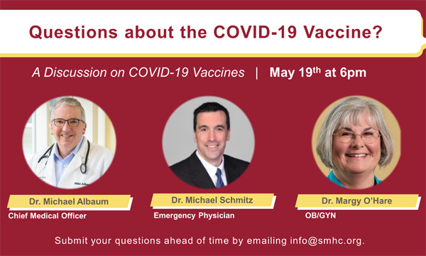 Questions about the COVID-19 Vaccine?
