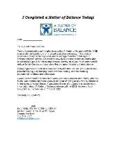 PatientLettertoHealthcareProviders