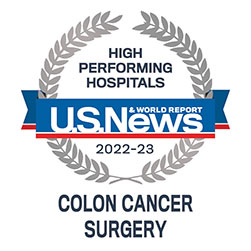 high performing indicator coloncancer