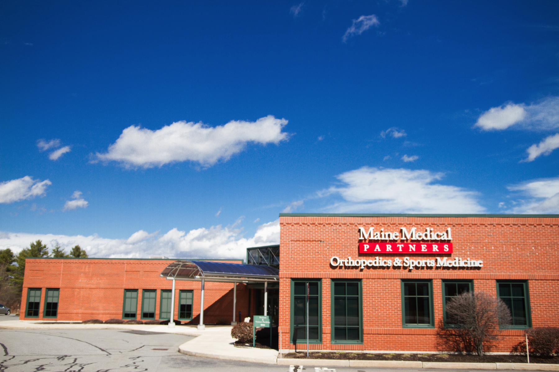 Maine Medical Partners Orthopedics & Sports Medicine 119 Gannett Drive, South Portland, ME