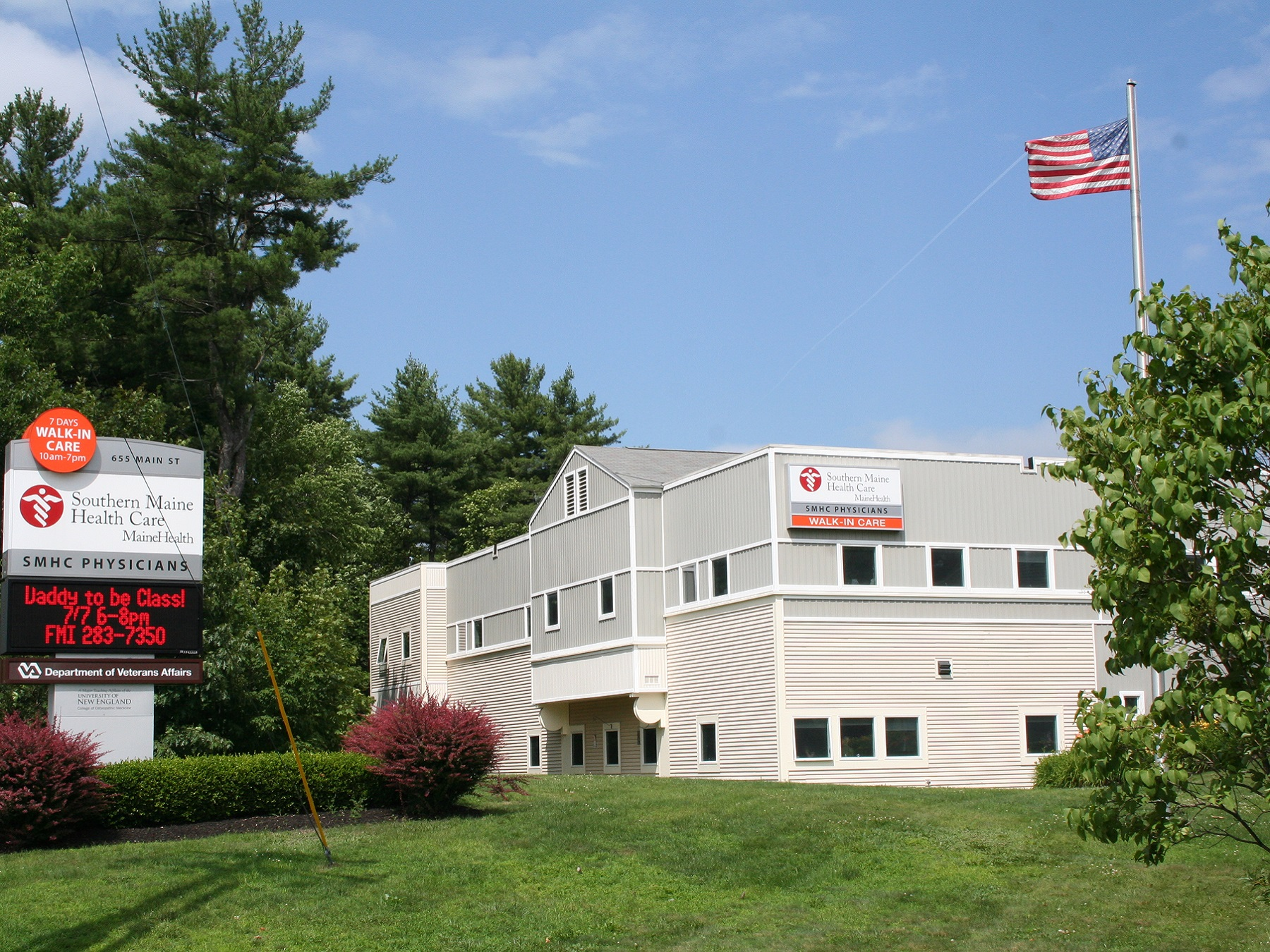 Southern Maine Health Care Is Located At 655 Main St., Saco, ME