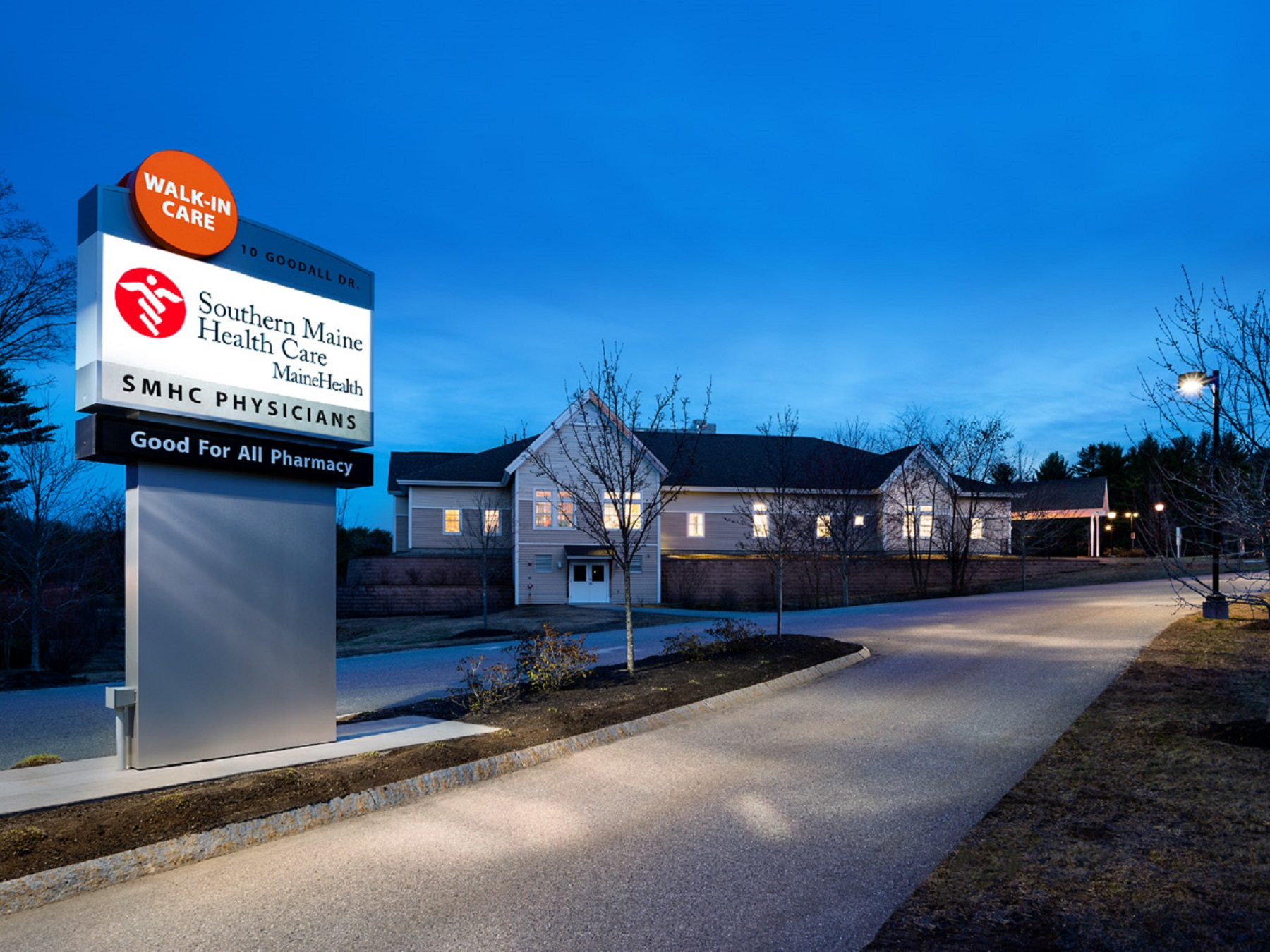 Southern Maine Health Care Walk-In Clinic Located At 10 Goodall Drive, East Waterboro, ME