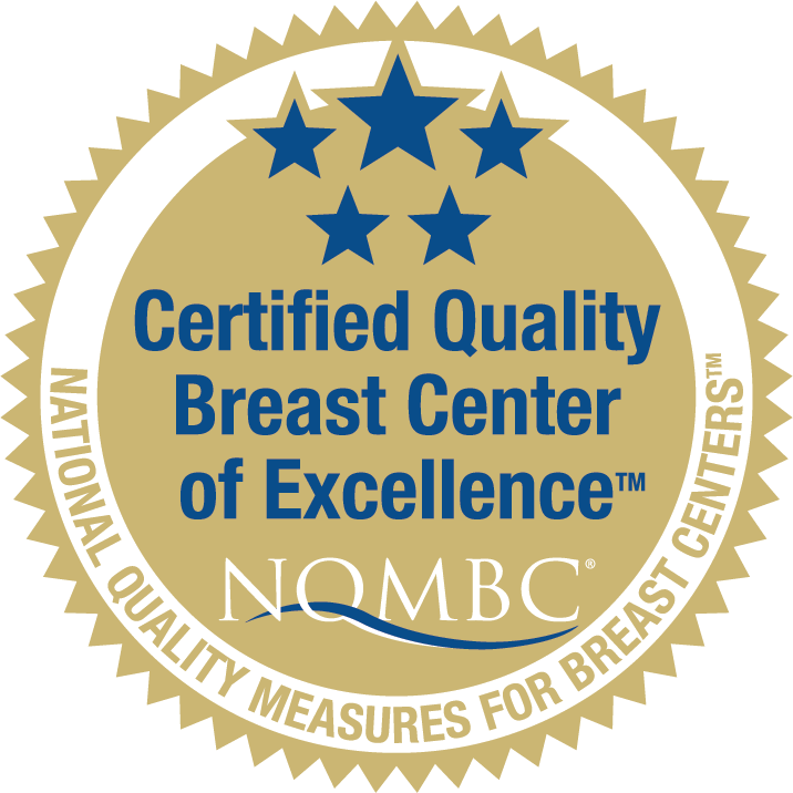 Breast Center of Excellence Seal